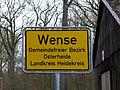 Wense (Osterheide) - Ortseingangsschild.jpg