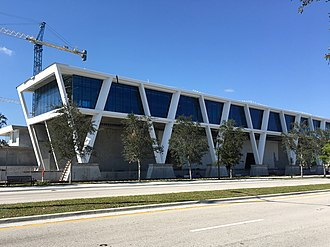 Brightline - West Palm Beach station in November 2016