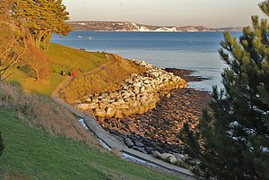 Nothe Gardens - Nothe Gardens and part of Newton's Cove