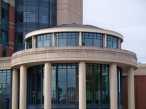 Whatcom County, Washington - Image: Whatcom County Courthouse Bellingham, Washington