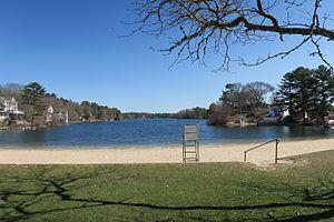 White Island Shores, Massachusetts - White Island Pond