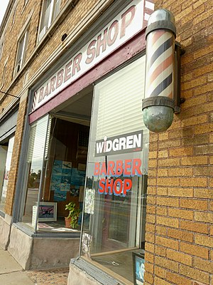 Gran Torino - Widgren's Barber Shop in Royal Oak was another shooting location