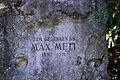Wien-Hietzing - Max-Mell-Park - Denkmal für Max Mell - Detail 1.jpg