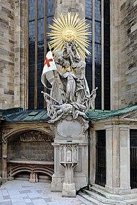 Wien - Stephansdom, Capistrankanzel (1).JPG