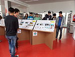 WikiArS exhibition at Rubí Library May 2014 02.JPG