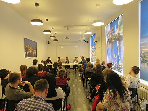 WikiLive 2018 in Serbia, EDU panel with partners 2.jpg
