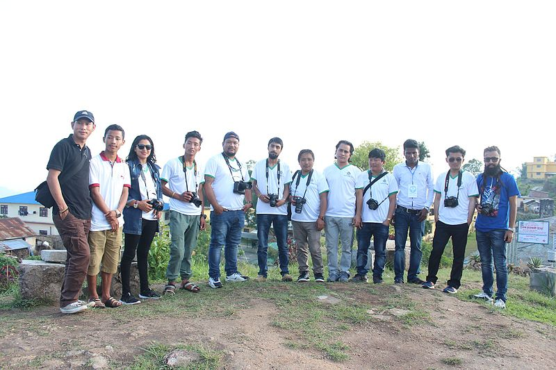 फाइल:Wiki Loves earth outreach program group photo of Ilam.jpg
