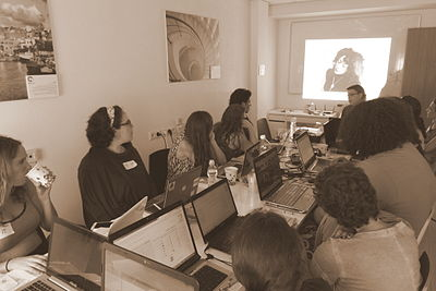 Wiki Women Editors Project - Opening Meeting (14).JPG