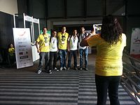 Wikimania 2015-Thursday-Volunteers (1).jpg