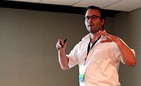 Wikimania 2015 - Joe Sutherland 11.jpg