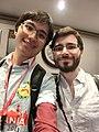 Wikimania 2017 by Deryck day 1 - 14 Jean-Fred.jpg