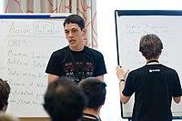 Wikimedia Hackathon Vienna 2017-05-19 Mentoring Program Introduction 027.jpg
