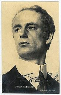 Wilhelm Furtwängler German conductor and composer