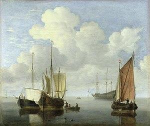 Willem van de Velde de Jonge - Zeegezicht.jpg