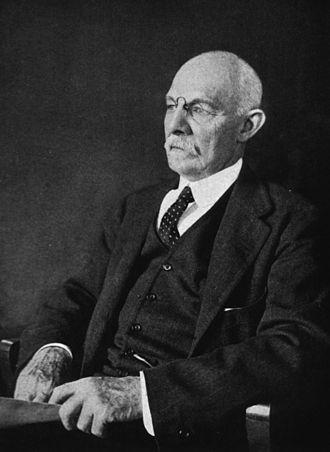 William Stewart Halsted - William Stewart Halsted in 1922