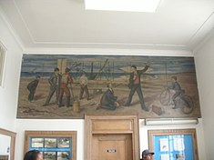 Williamston, NC - post office mural.JPG