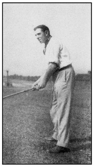 Willie Anderson (golfer) - Anderson at the 1909 Western Open