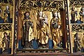 Winged altarpiece with the Virgin and Child and saints, Germany, 1520, Bode Museum, Berlin (3) (26310777098).jpg