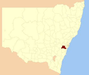 Wollondilly Shire - Location in New South Wales