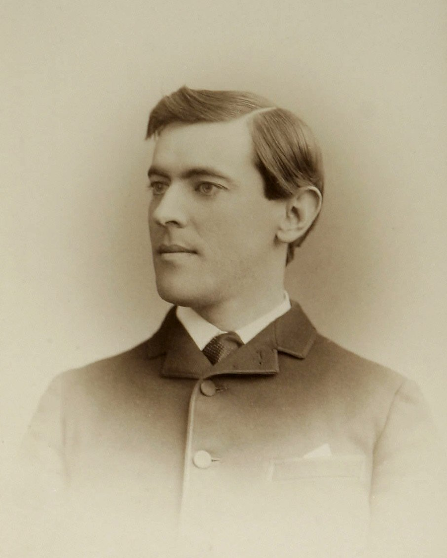 Woodrow Wilson by Pach Bros c1875