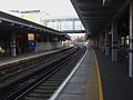 Woolwich Arsenal stn look east.JPG