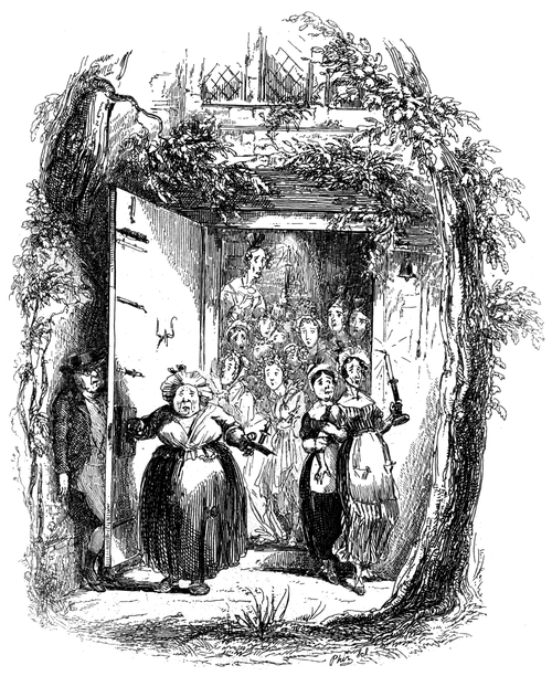 Works of Charles Dickens (1897) Vol 1 - Illustration 15
