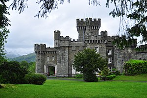 Wray Castle - Beatrix Potter aged 16 stayed here in 1882 on a family holiday, beginning her long association with the Lake District.