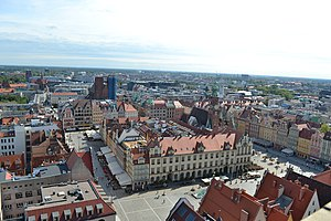 Market Square, Wrocław - View of Market Square