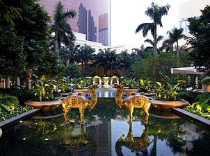 Wynn Macau Resort Swimming Pool 2011.jpg