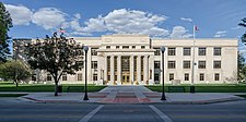 Wyoming Supreme Court Building, Cheyenne, Southwest view 20110823 1.jpg