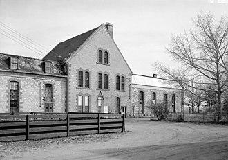 Wyoming Territorial Prison State Historic Site - Main building