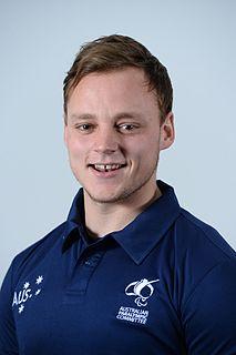 Jayden Sawyer Australian Paralympic athlete
