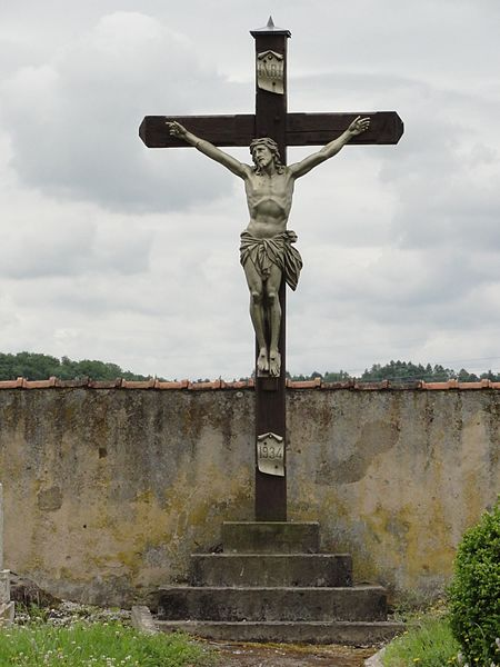 Xousse (M-et-M) croix de cimetière