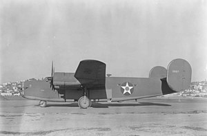 Consolidated B-24 Liberator - An early B-24D