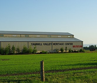 McMinnville, Oregon - Yamhill Valley Heritage Center Museum