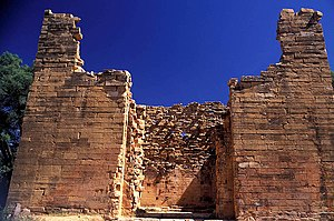 History of Ethiopia - Temple at Yeha, possible capital of D'mt.
