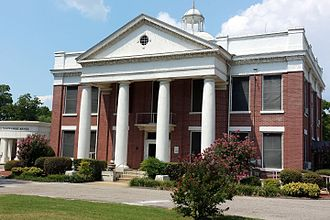 Yell County, Arkansas - Image: Yell County Courthouse 001