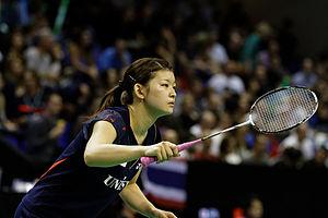 Ayaka Takahashi - Takahashi at the 2013 French Super Series