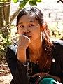 Young Woman - National Kandawgyi Gardens - Pyin Oo Lwin - Myanmar (Burma) (12028730136).jpg