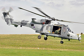 AgustaWestland AW159 Wildcat - ZZ406, the first production Wildcat delivered to the AAC in May 2012
