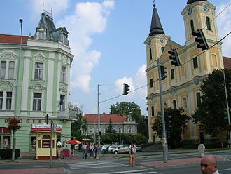 Zalaegerszeg - Church of Mary Magdalene, patron saint of Zalaegerszeg