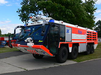 MAN SX - Ziegler fire engine based on the MAN SX