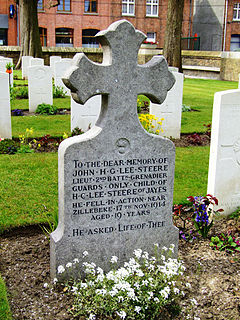 Zillebeke Churchyard Commonwealth War Graves Commission Cemetery