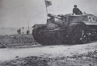 43M Zrínyi - Zrínyi II in Romanian service near Cluj in late 1944.