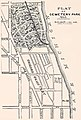 """PLAT OF CEMETERY PARK 1863"" map from Report of the Commissioners and the History of Lincoln Park complied by I. J. Bryan, Chicago, 1899 (page 16 crop).jpg"