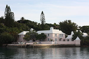 Oona O'Neill - Spithead, O'Neill's childhood home in Bermuda. It was built in the nineteenth century by privateer Hezekiah Frith.