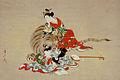 'The Four Sleepers Japan' by Kawamata Tsunemasa, c. 1745.jpg