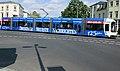 +DVB - Dresdner Straßenbahn - Sonderbeklebung 125 Jahre Dresdner Neuste Nachrichten - Dresden Striesen - Schandauer Straße - Bild 001.jpg