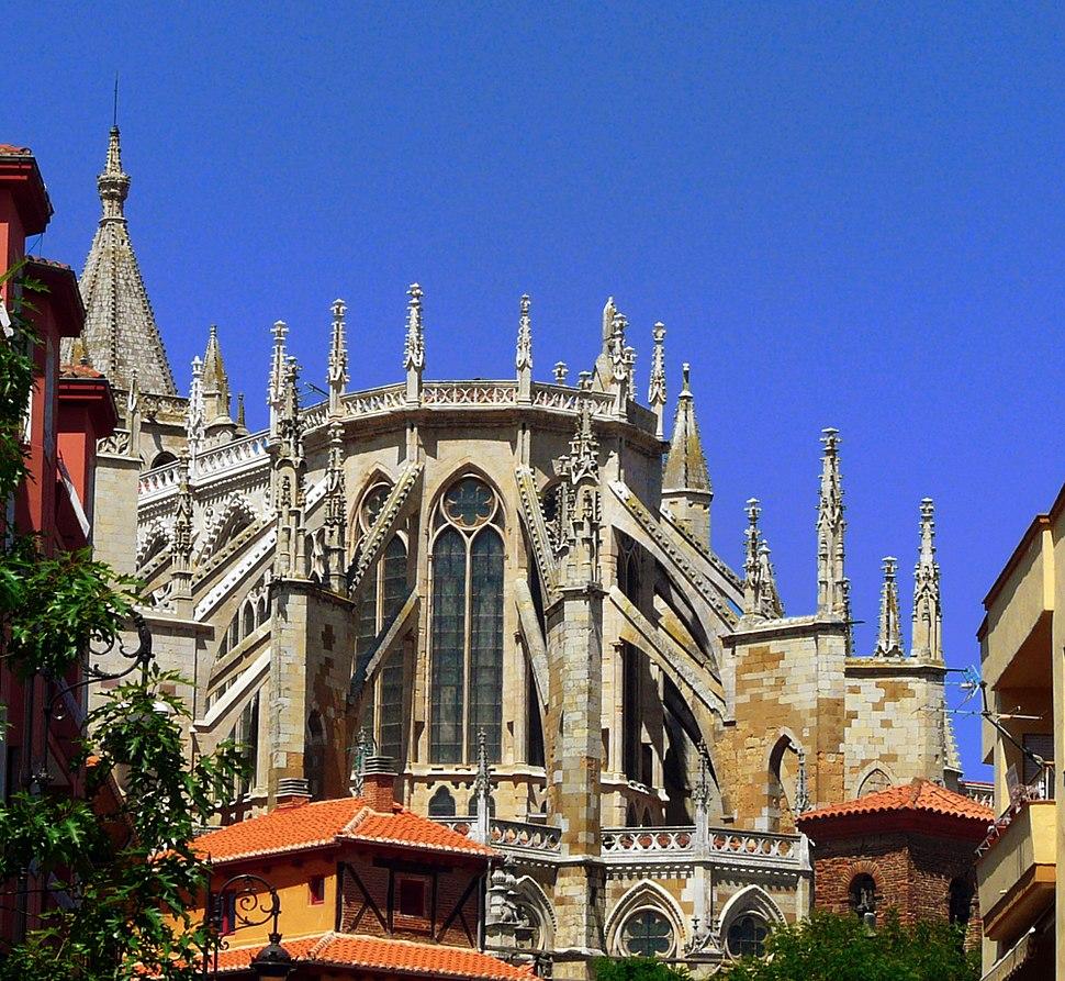 Ábside de la catedral de León