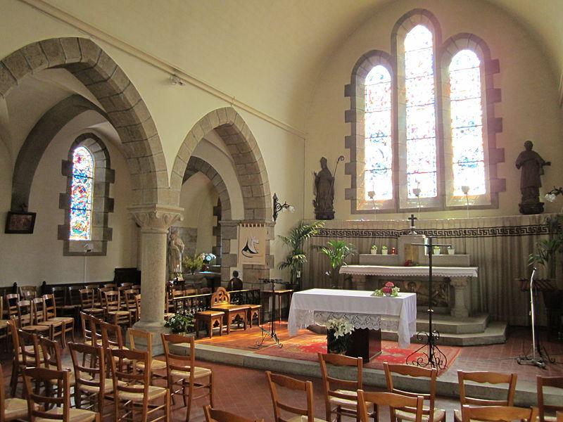 Église Saint-Vigor de Carolles, Manche